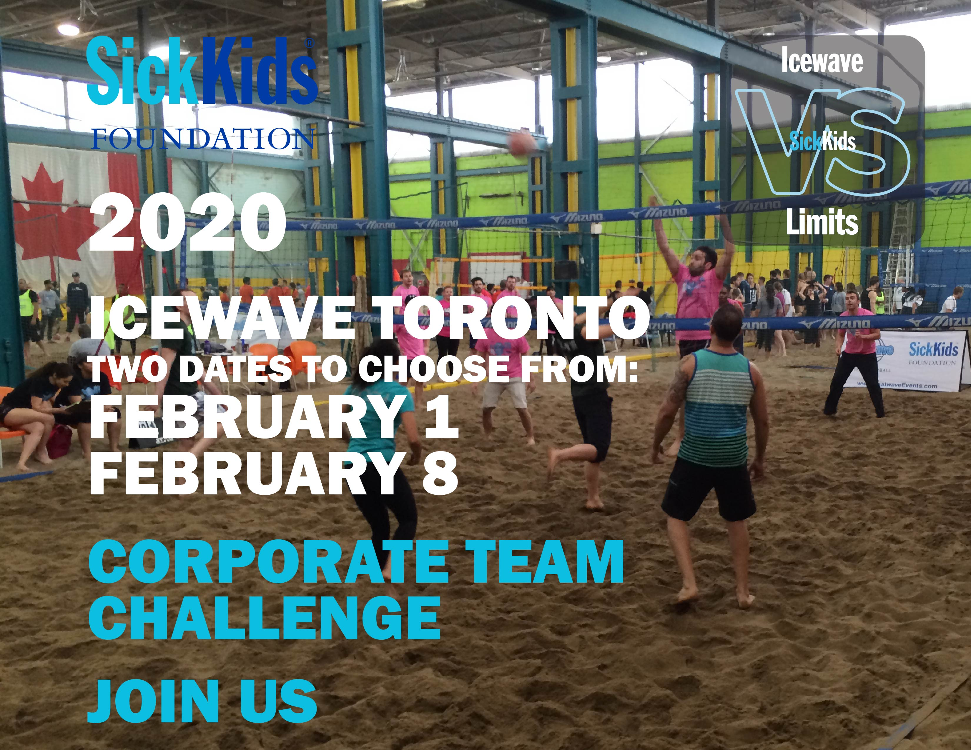 Icewave for SickKids Team Building Corporate Challenge Page 1