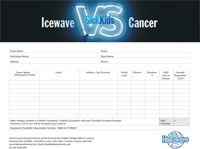 Icewave for SickKids Pledge Form